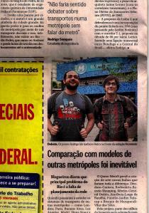 Matéria no Globo
