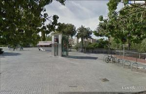 Elevador na estação Marina, Barcelona